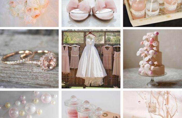 Wedding Colour Trend - Blush
