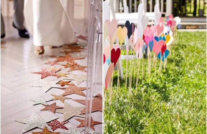 7 Inspiring DIY Aisle Runner Ideas