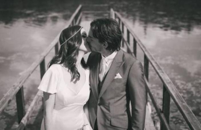 RTE's Jennifer Maguire's stunning bridal look
