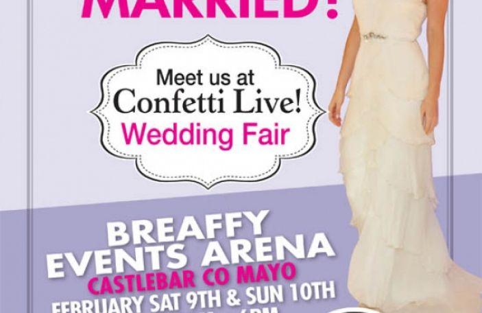 Confetti Live! Castlebar 9th-10th February 2012