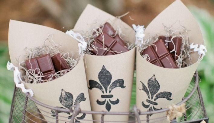 Top Ten Original Wedding Favour Ideas
