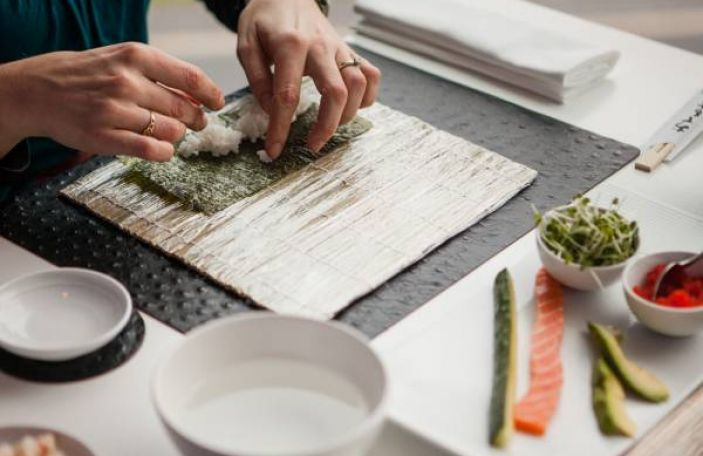 Hen Party Inspiration / Sushi Making Class at Raw