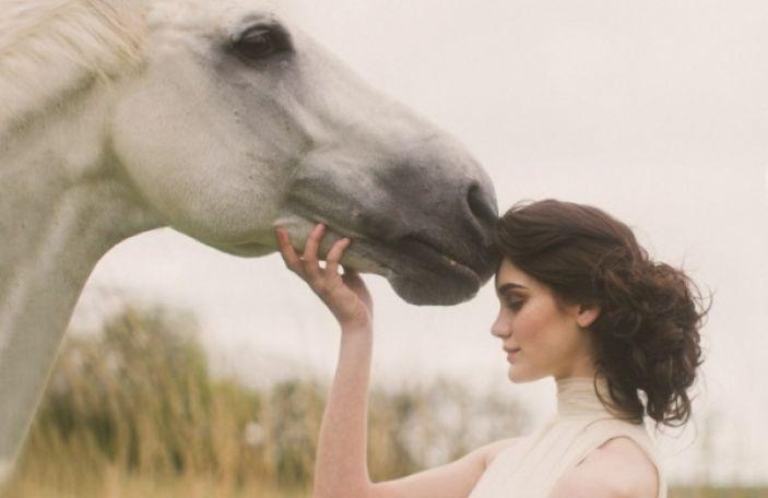 Autumn bridal shoot at Ballymagarvey Village