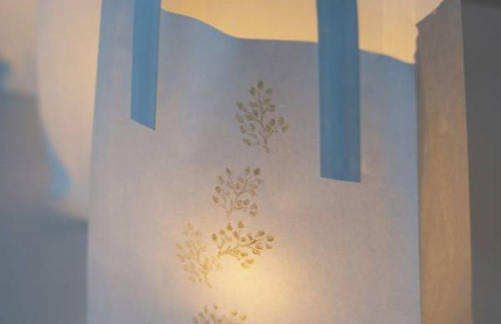 Simple DIY Printed Paper Lanterns