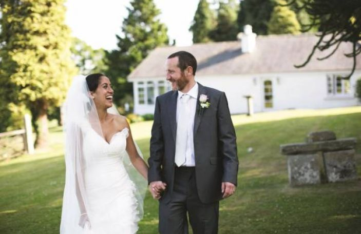 A gorgeous DIY real wedding at Ballybeg House by Peter Rowen
