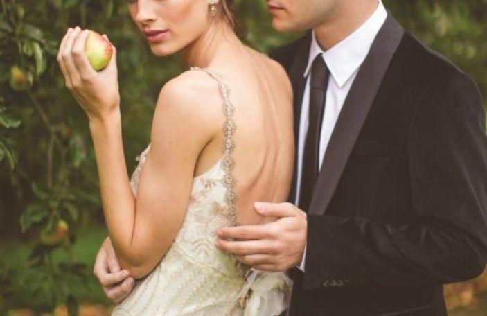 Romantic bridal fashion shoot at Luttrellstown Castle