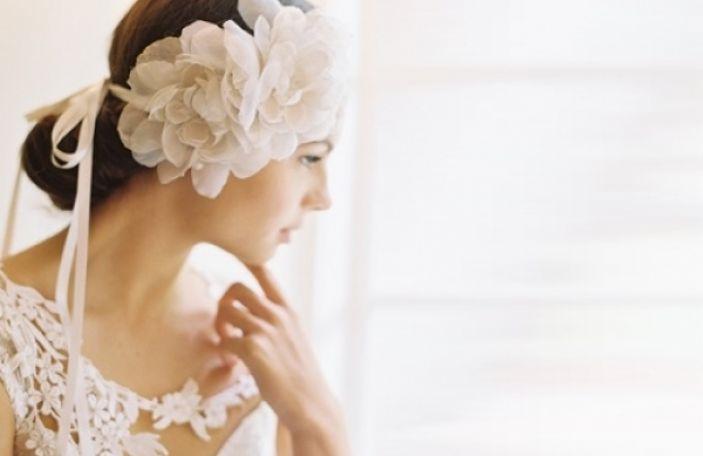2014 bridal headpiece styles