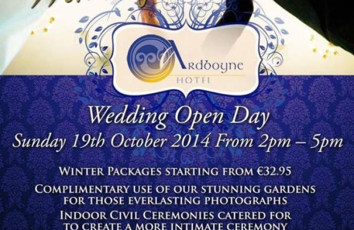 Ardboyne Hotel Wedding Open Day