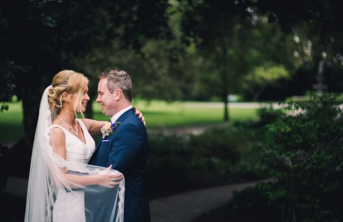 Sinead and Brian's vintage Ballymagarvey Village wedding