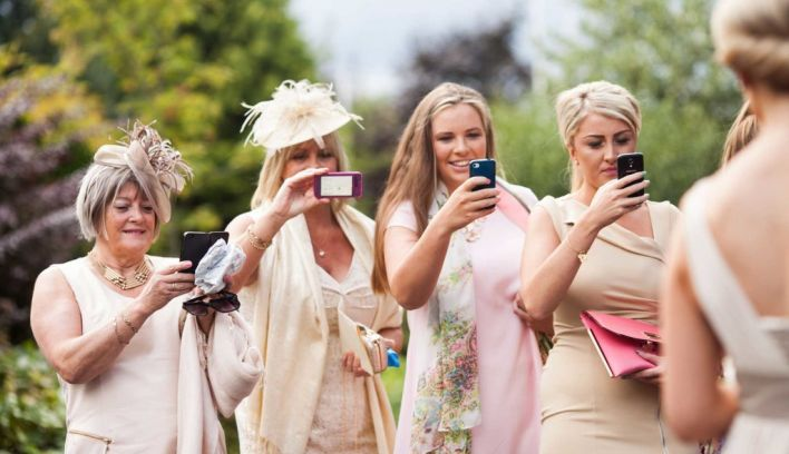 Don't Even Think About It: 8 Major No-nos For Wedding Guests