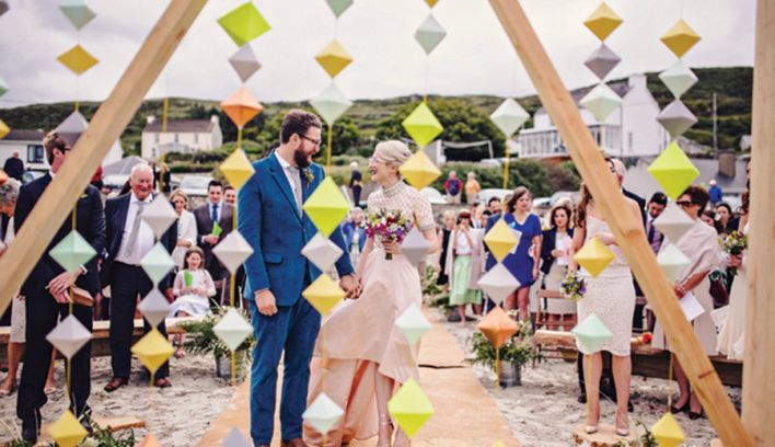 Inspiring Geometric Wedding Décor