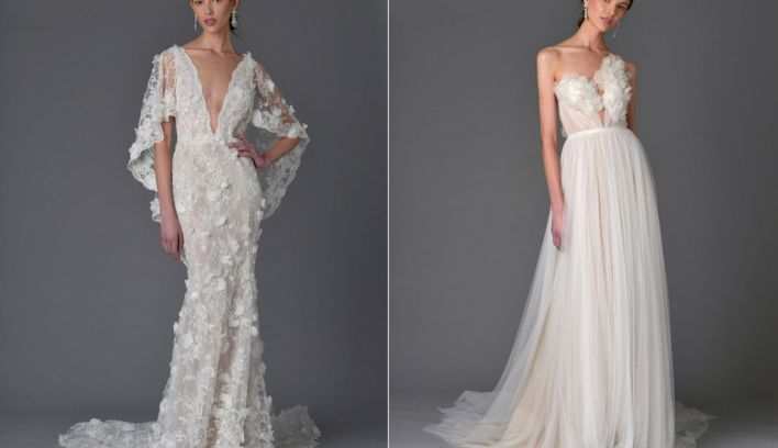 85d81d8974 Wedding Dresses From Marchesa's Spring Summer 2017 Collection ...