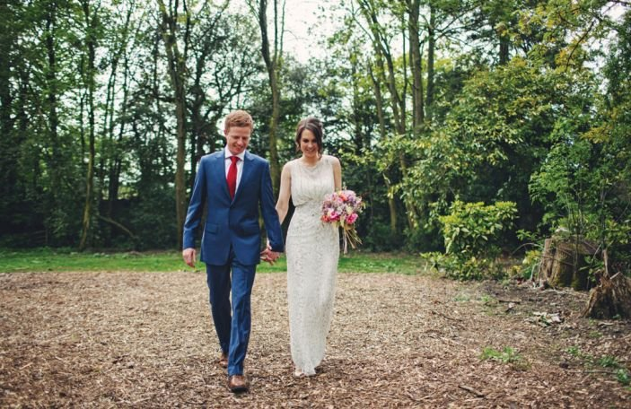 Sheila & Shane's house party wedding at Cloughjordan House