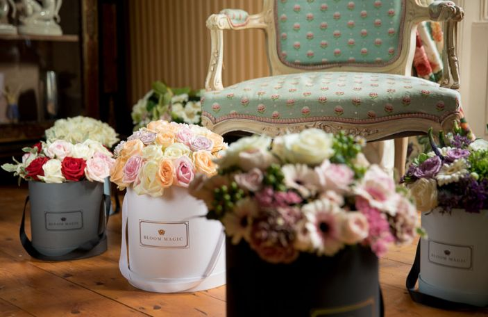 WIN! Bloom Magic's New Hatbox Parisian Collection Flowers For You & a Friend