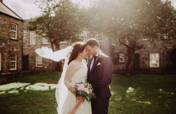 Nadya and Alex's beautiful Ballymagarvey wedding
