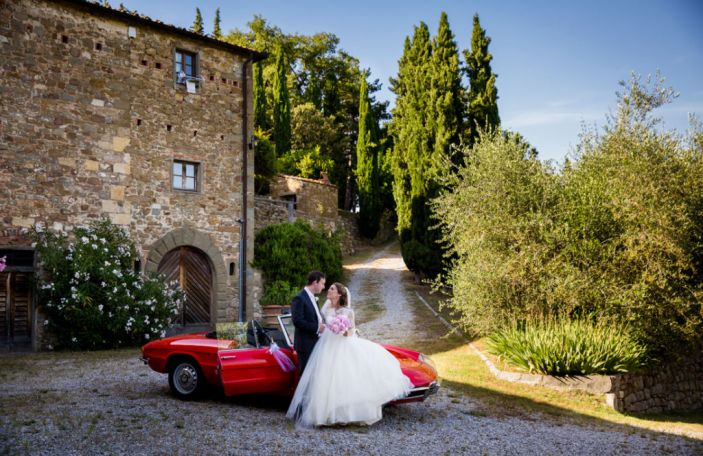 Ken and Jean-Anne's stunning Tuscany wedding