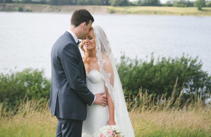 Deirdre and Andrew's classic, romantic wedding at Tulfarris, Co Wicklow