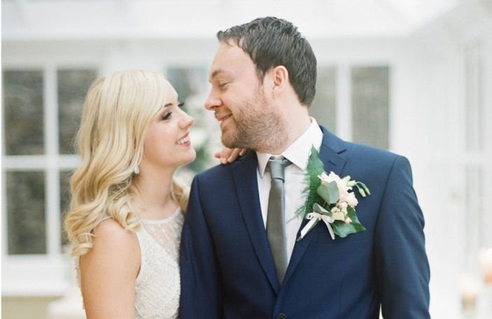 Jenny and Keith's relaxed, homely wedding at Ballymagarvey Village, Co Meath