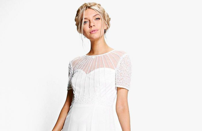 These three seriously dreamy wedding dresses are on BooHoo for less than €60