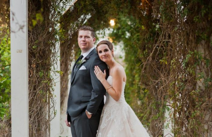 Caley and Sean's intimate, relaxed wedding at The Heritage Museum