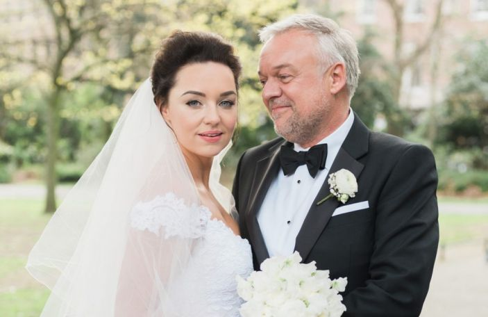 Ellen and Conrad's magical, glamorous wedding at The Shelbourne Hotel, Dublin