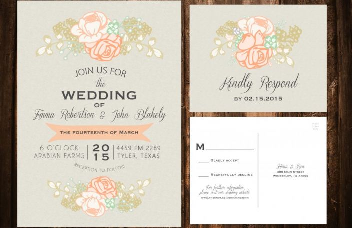 How soon is too soon to start designing your wedding invitations?