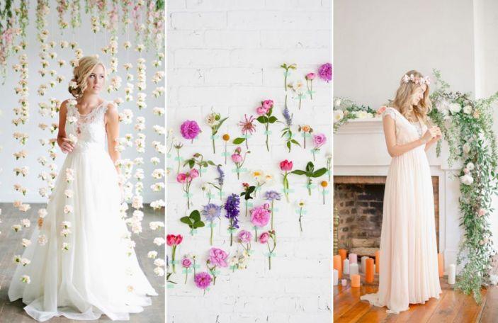 Wedding Trend Alert: Flower Installations