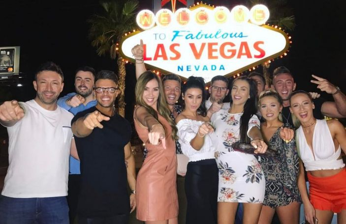 Suzanne Jackson is having a ball on her joint hen-stag do in Vegas