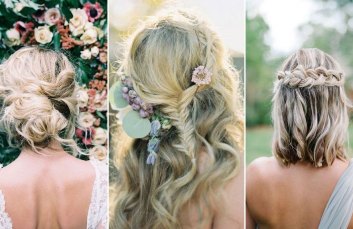 Boho Bridal Hairstyles For The Modern Bride Confetti Ie