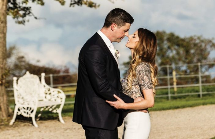 Emma and Ollie's love and laughter-filled wedding at Clonabreany House, Co Meath