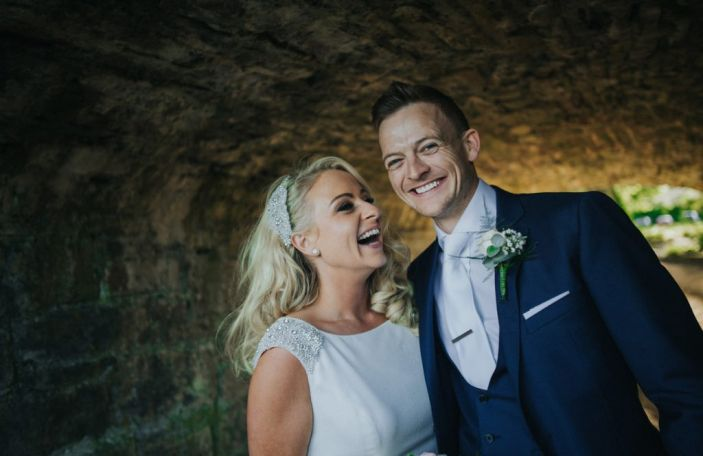 Siobhán and Johnny's glamorous, rustic Clonabreany House wedding
