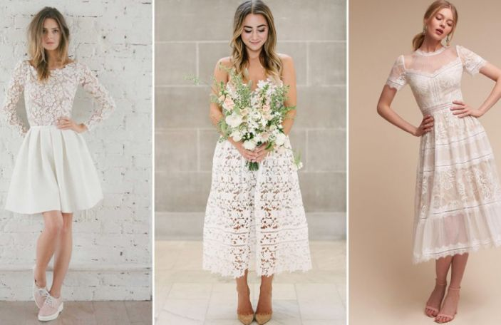Short Wedding Dresses for the More Relaxed Bride