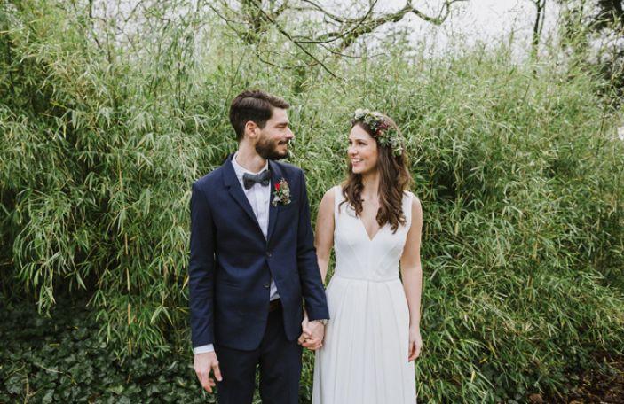 Anja and Benedikt's homely wedding at Cloughjordan House