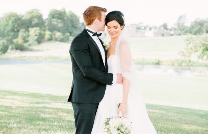 Amy and Nick's stunning Carton House wedding