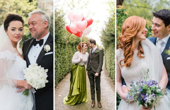 The top 15 most beautiful and inspiring real weddings you loved in 2017