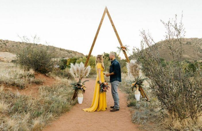 Backdrop It Like It's Hot: Five Awesome Wedding Backdrops