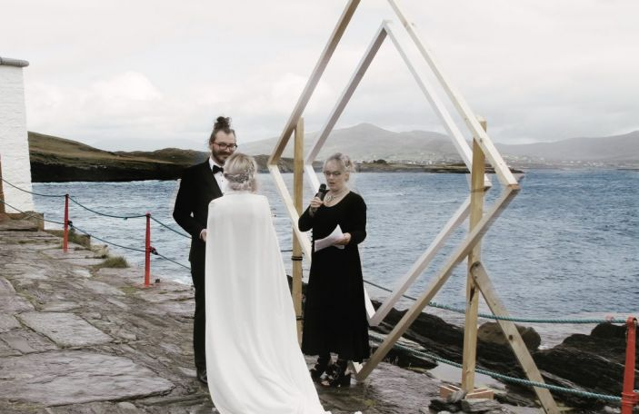 WATCH: The woman behind Folkster Bridal's STUNNING wedding video