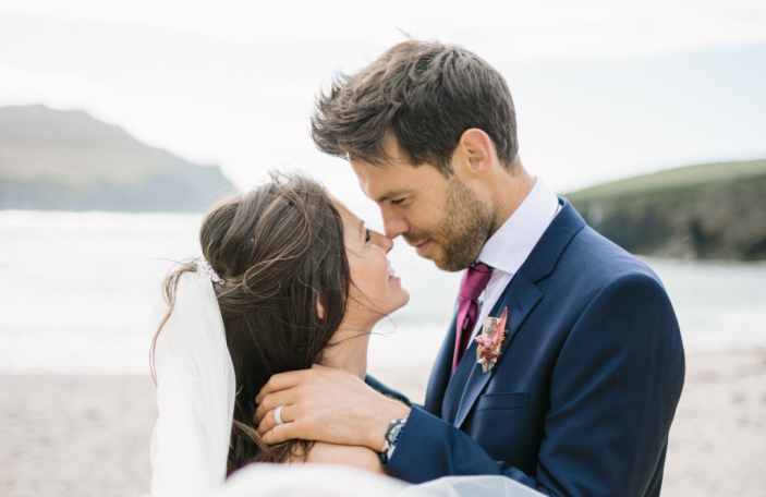 Beachside wedding for Abi and Crevan in Co. Kerry