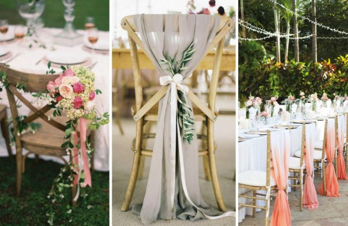 Hot seat: 9 ways to dress up your wedding chairs