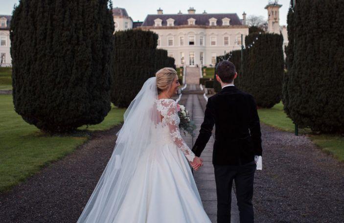 Nicola and Colin's beautiful wintery K Club wedding