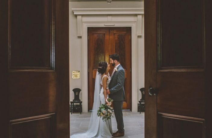 Steph and Tim's gorgeous, personal wedding at Mount Stewart, Co. Down