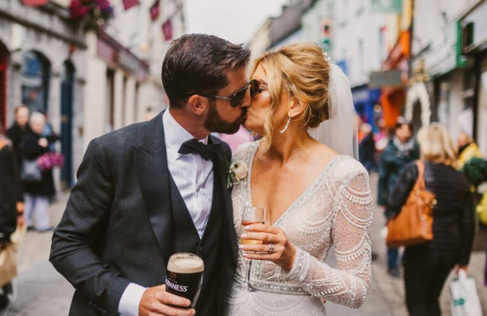 Shirley And Benny's Sunshine Filled Day At Glenlo Abbey, Co. Galway
