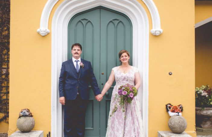 Jessica And Andrew's Beautiful Wedding At Martinstown House, Co. Kildare