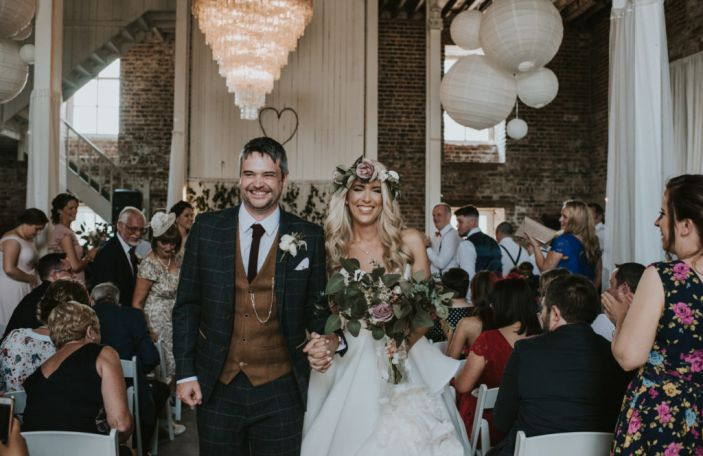 Laura and David's summer celebration in the Millhouse in Slane