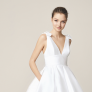The Belladonna Bridal edit on the Royal Brides simple wedding dress trend