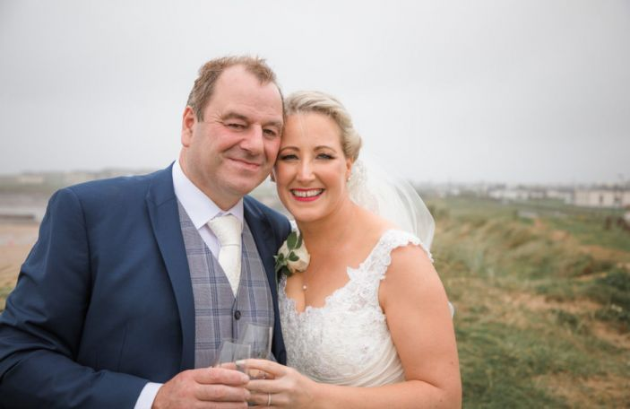 A beautiful Falls Hotel wedding in Co Clare for Karen and Sean