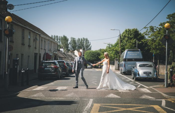Louise and Niall's beautiful Dunboyne Castle wedding