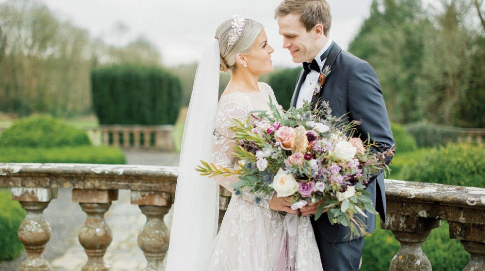 Rachael and Rory's Opulent Wedding at Gloster House