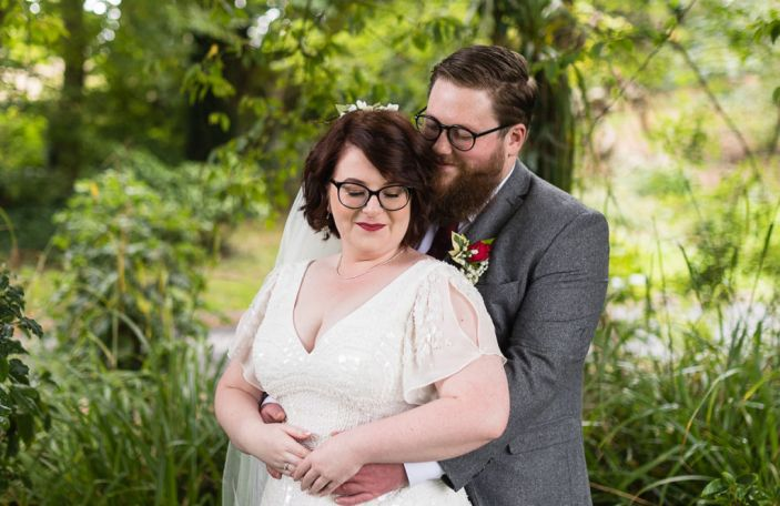 Rhiannon and Niall's beautiful intimate wedding at The Haven Hotel, Co Waterford