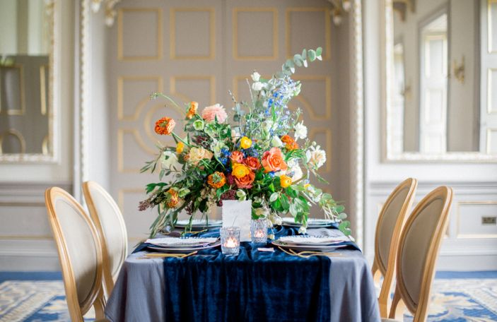 Jewel-Toned Wedding Inspiration for an Opulent Affair